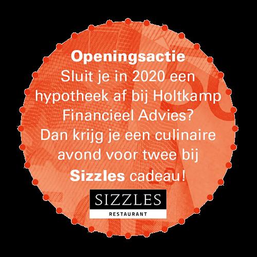 sizzles actie 2020